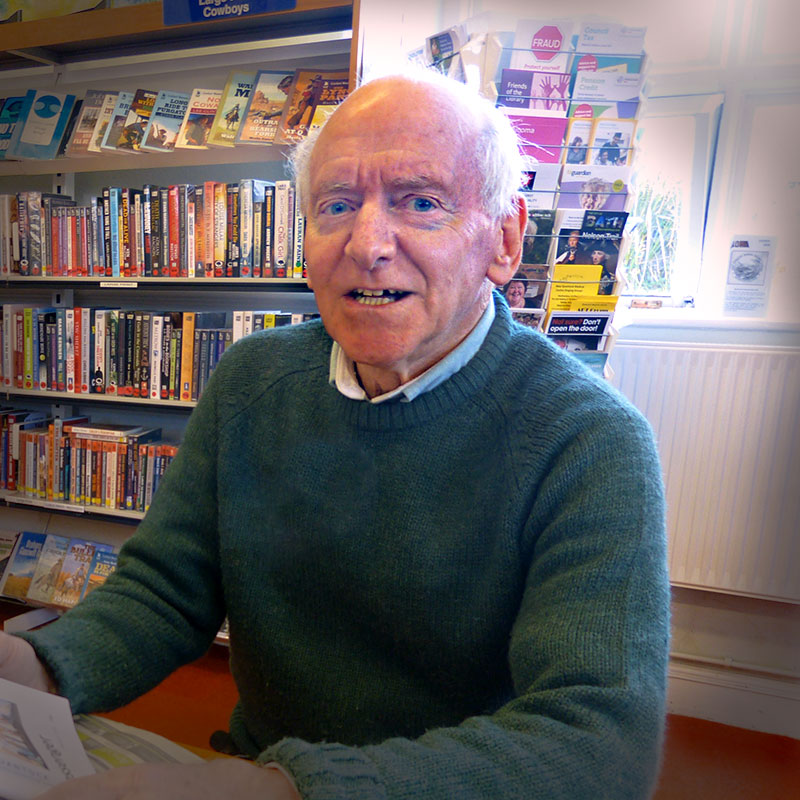 Roger Stacey - Chair- Thomas Poole Library