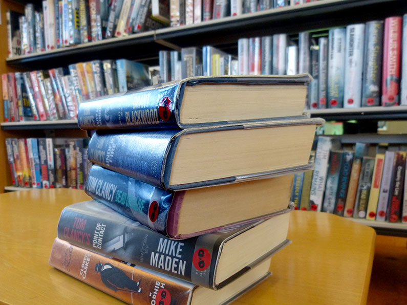 Books at Thomas Poole Library Nether Stowey