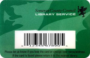 Library Card Thomas Poole Library Nether Stowey